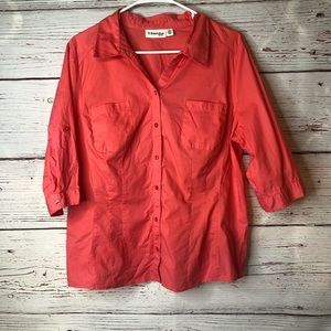 St Johns Bay XL Button Blouse